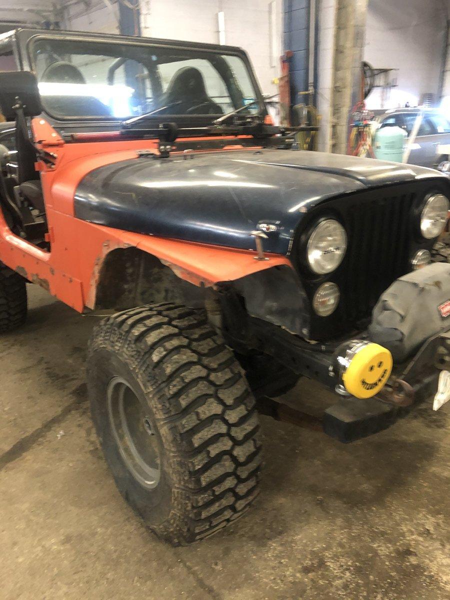 1977 Jeep cj7 overhauled 04 1