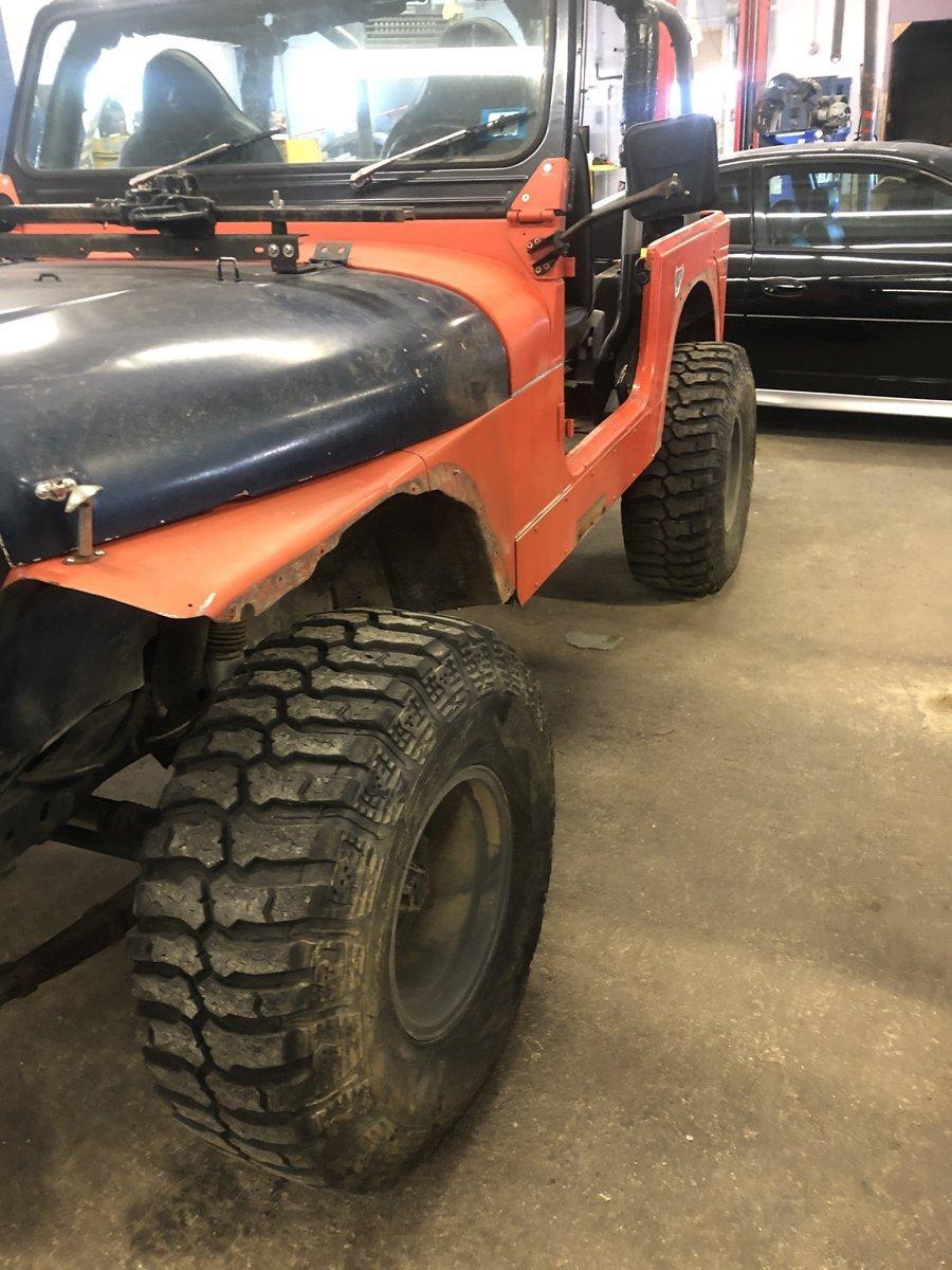 1977 Jeep cj7 overhauled 05 1
