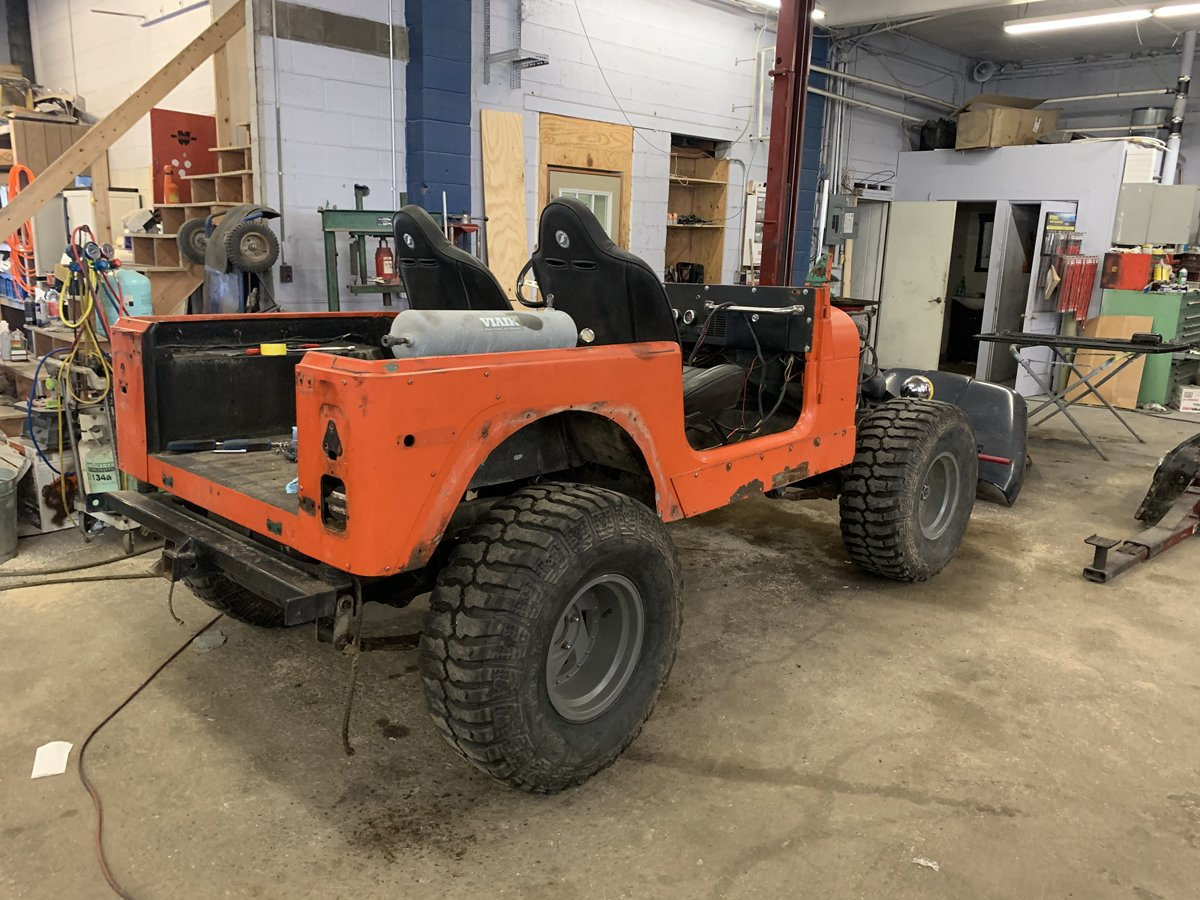 1977 Jeep cj7 overhauled 12 1
