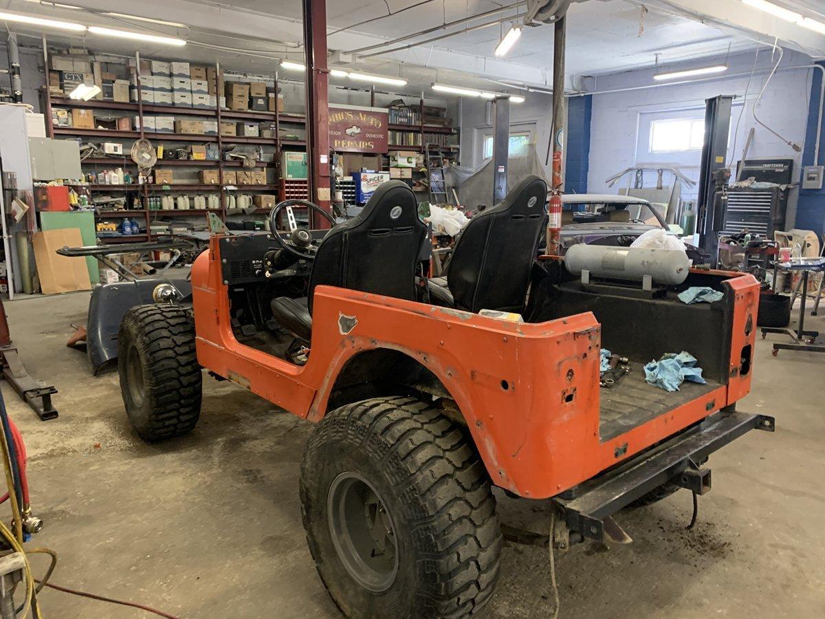 1977 Jeep cj7 overhauled 13 1