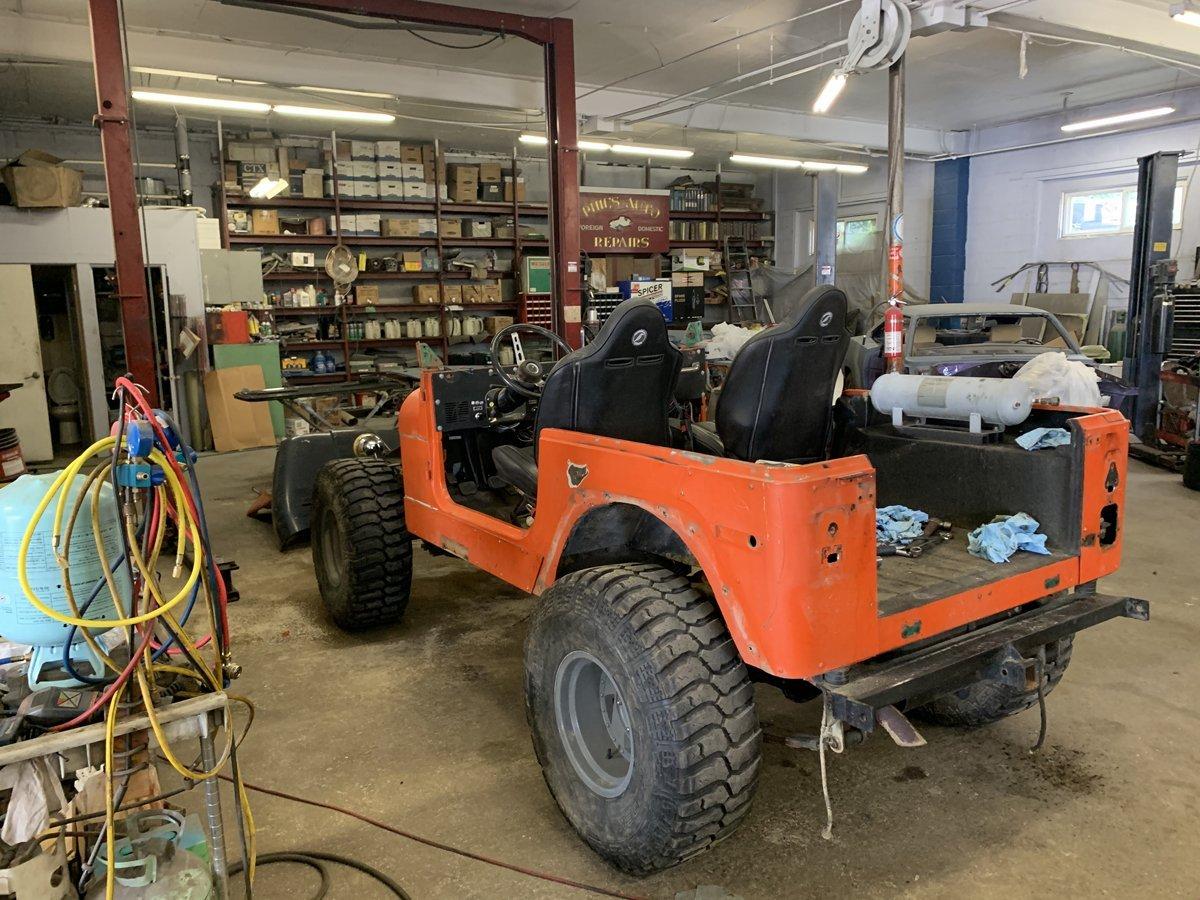 1977 Jeep cj7 overhauled 16 1