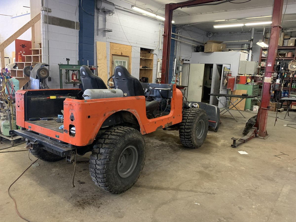 1977 Jeep cj7 overhauled 19 1