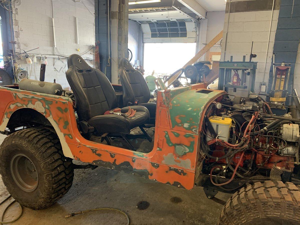 1977 Jeep cj7 overhauled 26 1