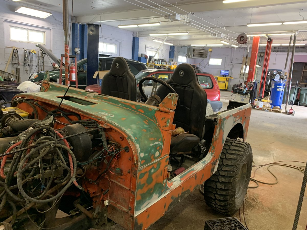 1977 Jeep cj7 overhauled 30 1
