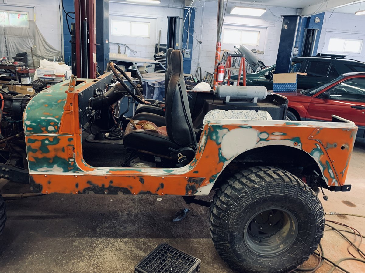 1977 Jeep cj7 overhauled 31 1