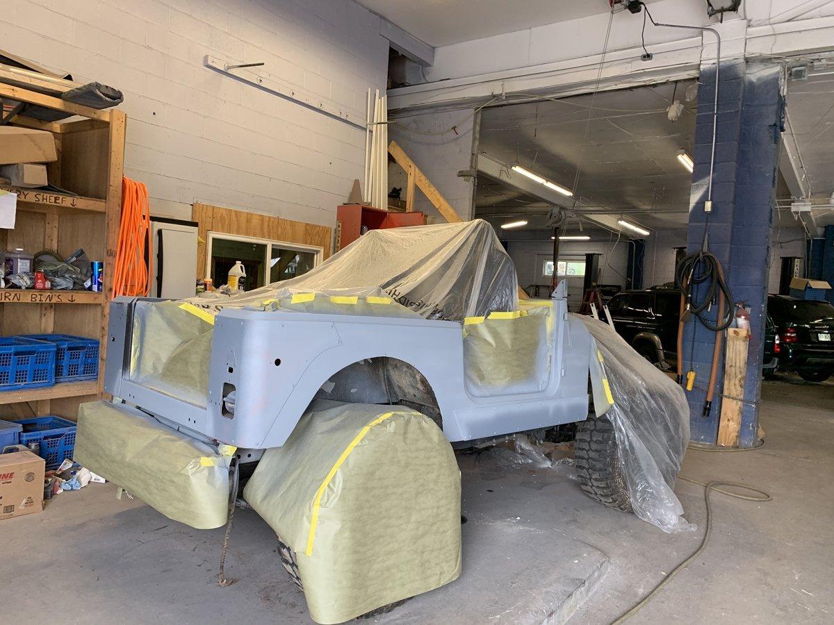 1977 Jeep cj7 overhauled 32 1