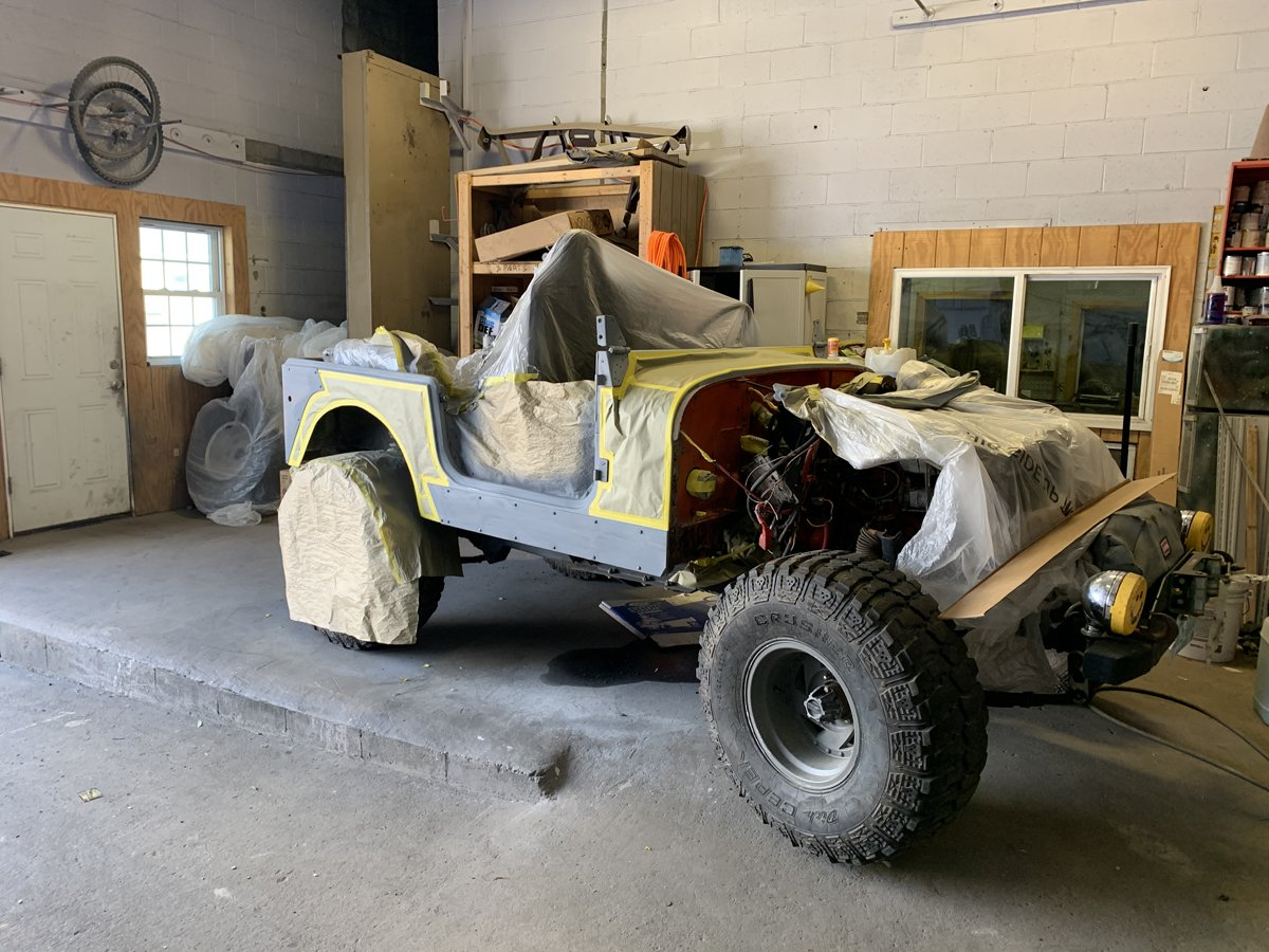 1977 Jeep cj7 overhauled 34 1