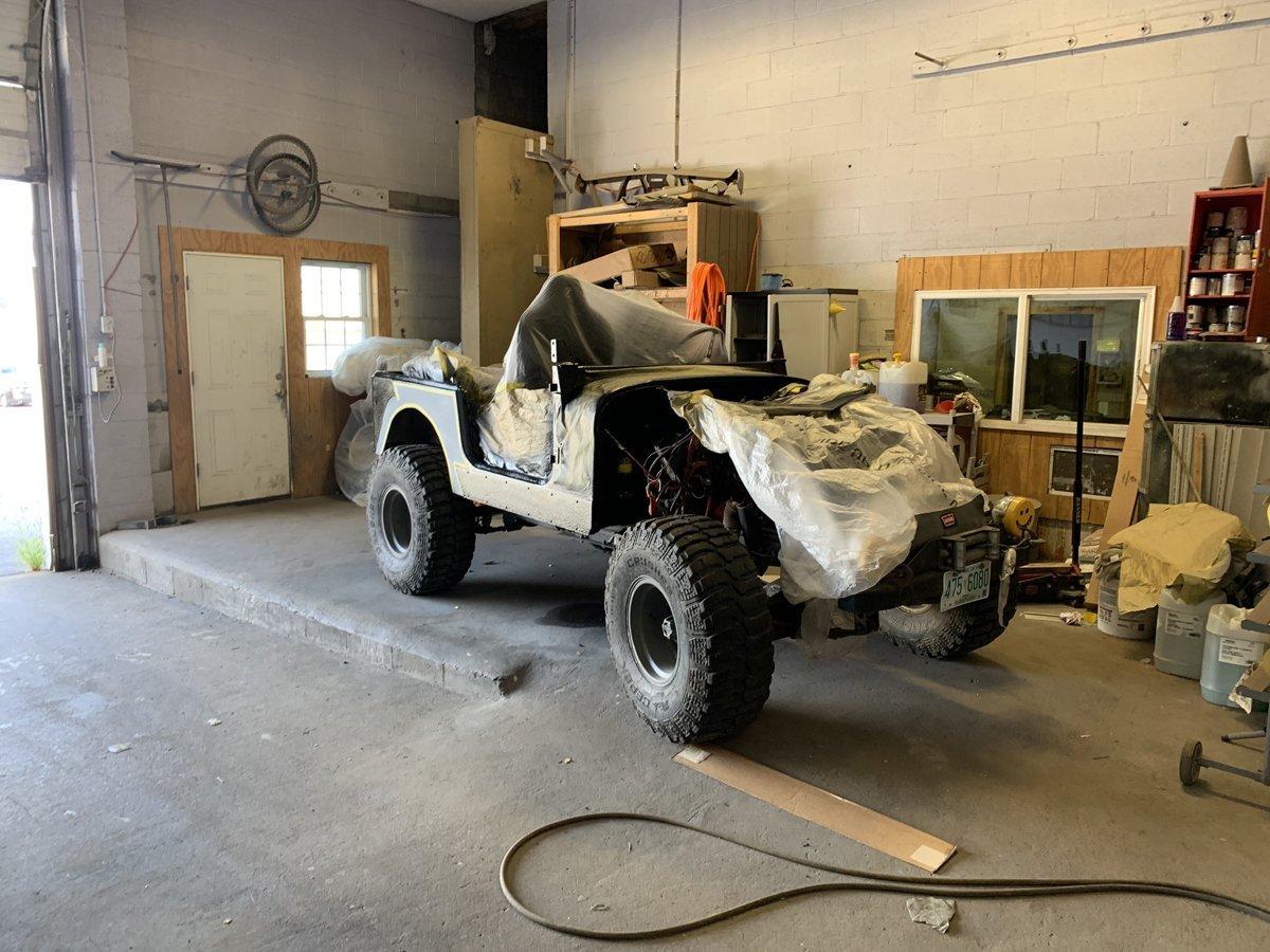 1977 Jeep cj7 overhauled 38 1