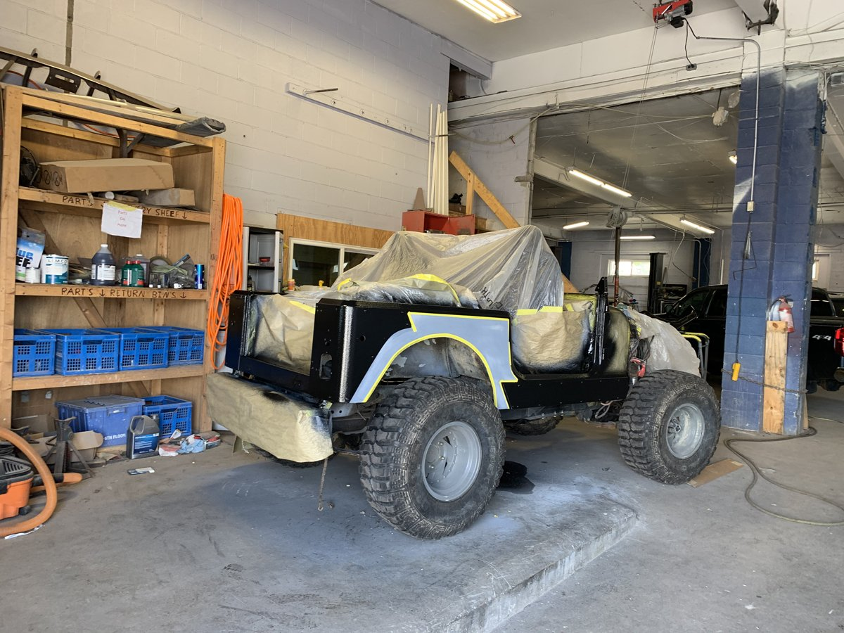 1977 Jeep cj7 overhauled 39 1