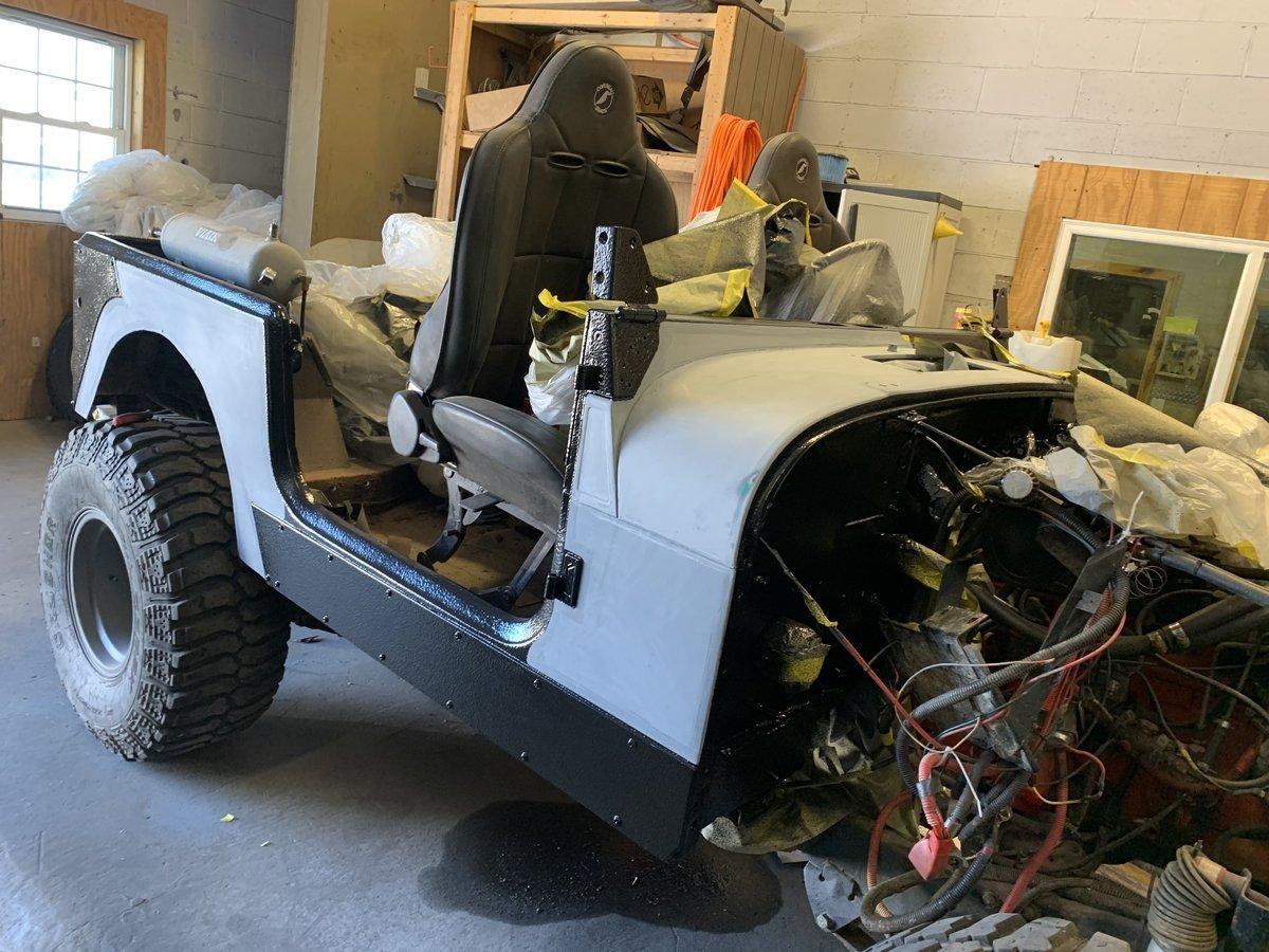 1977 Jeep cj7 overhauled 48 1