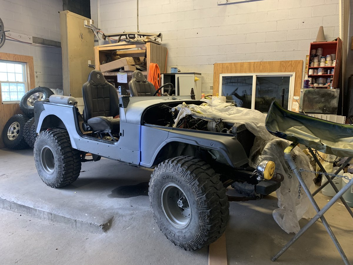 1977 Jeep cj7 overhauled 64 1