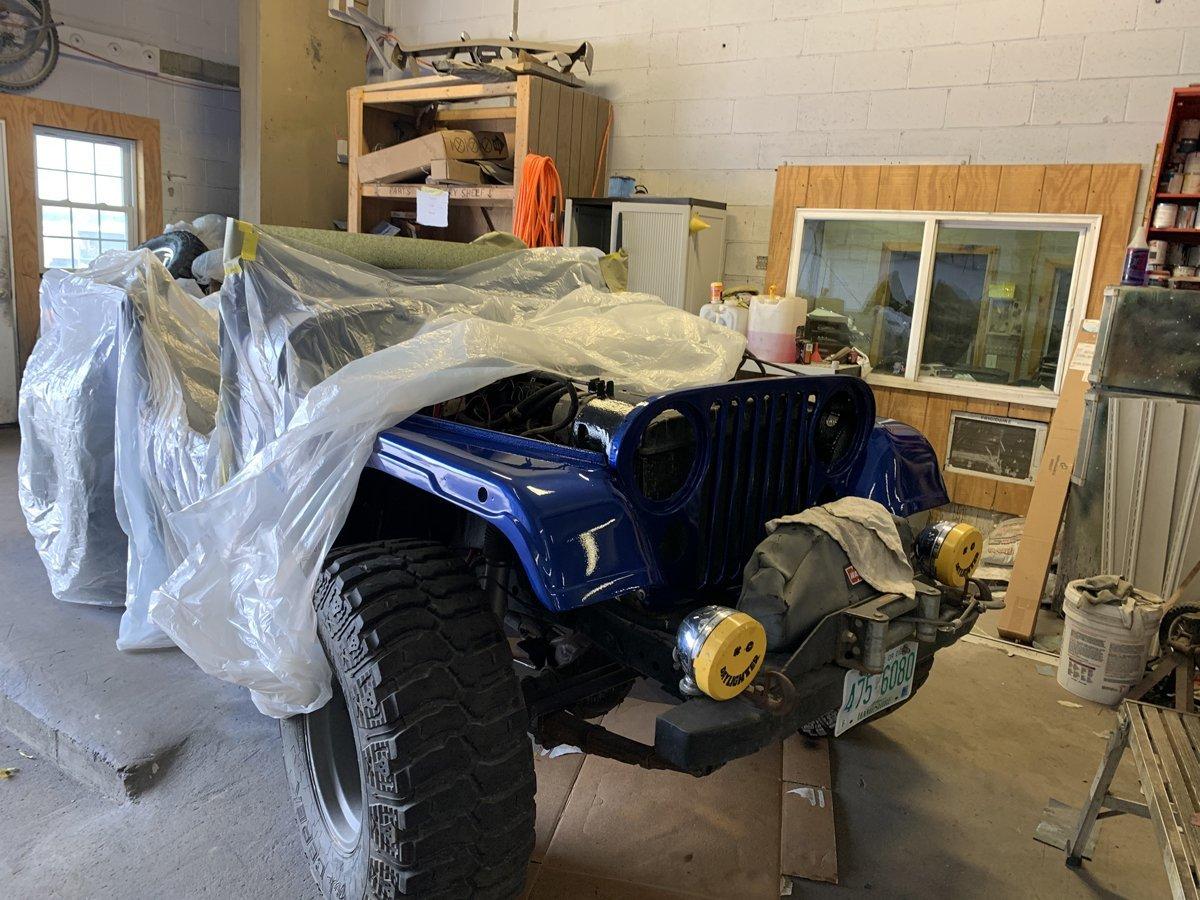 1977 Jeep cj7 overhauled 70 1