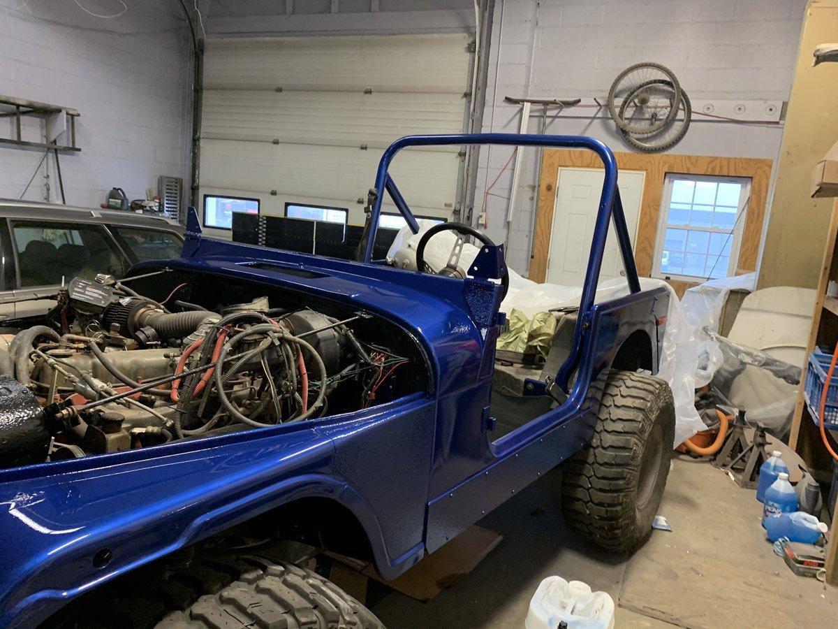 1977 Jeep cj7 overhauled 73 1