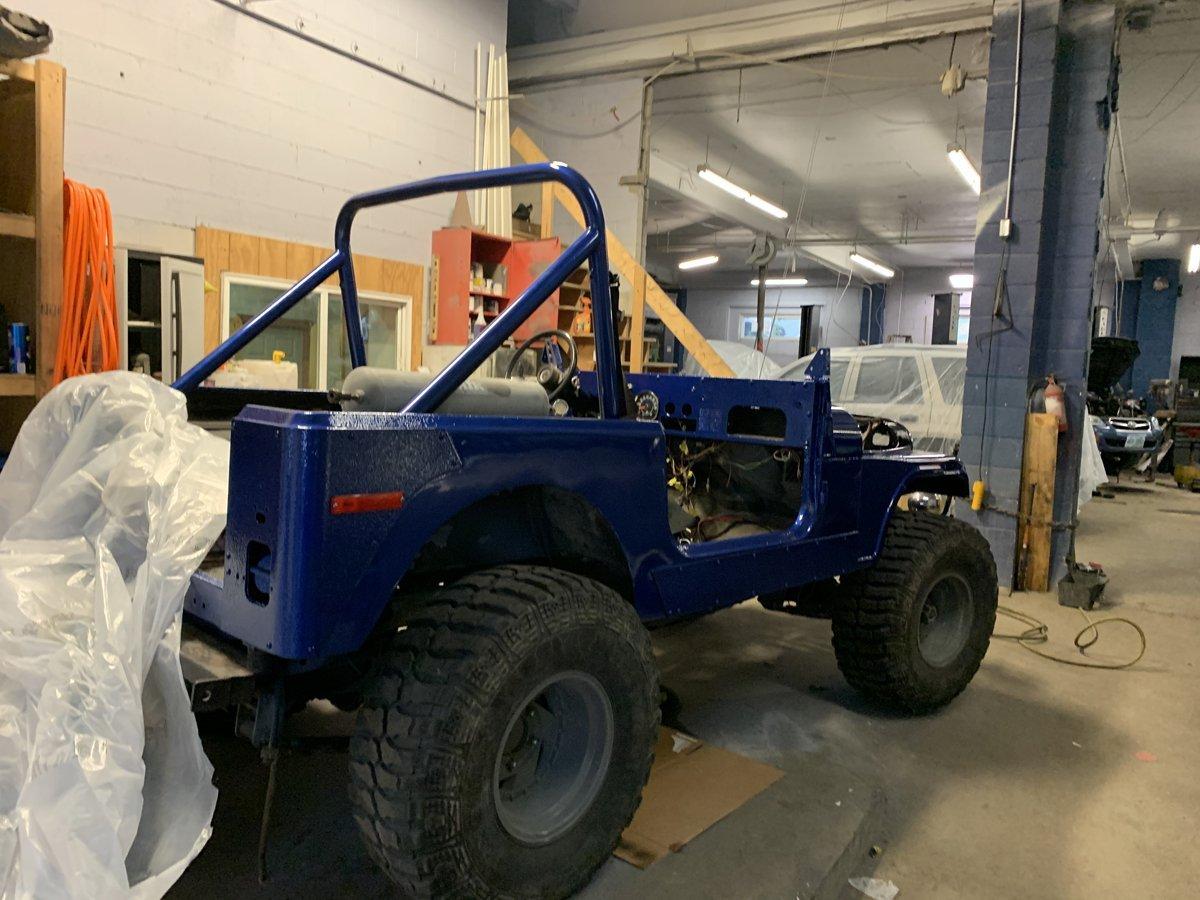 1977 Jeep cj7 overhauled 74 1