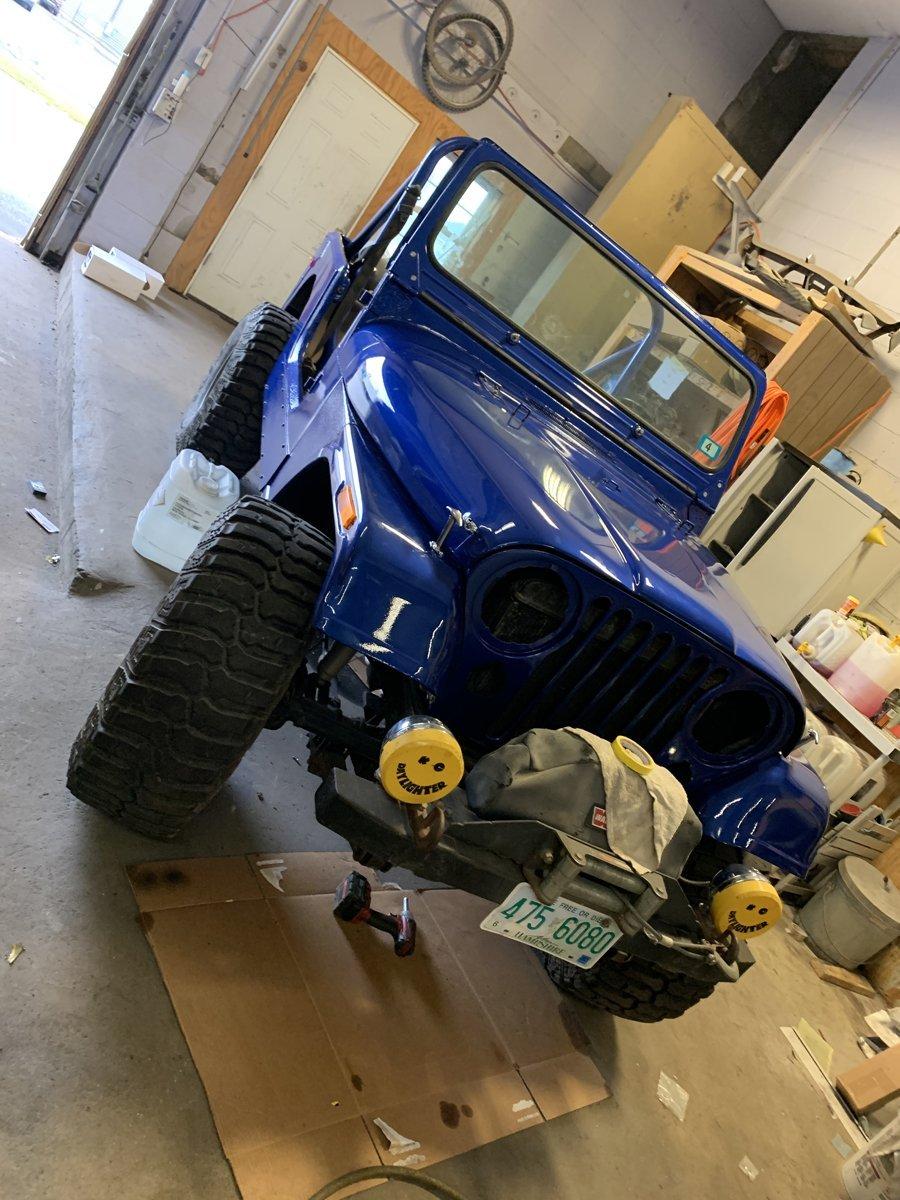 1977 Jeep cj7 overhauled 77 1