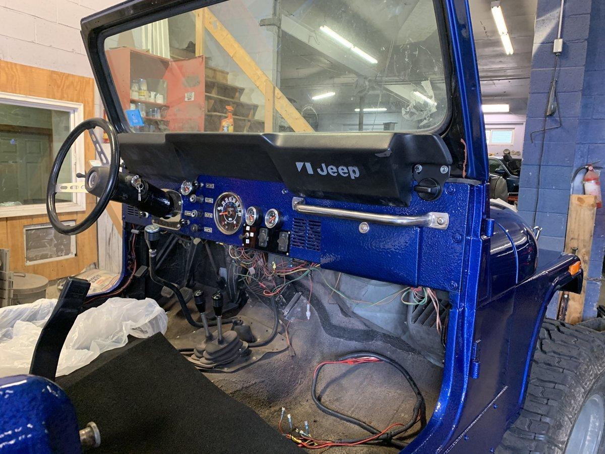 1977 Jeep cj7 overhauled 78 1