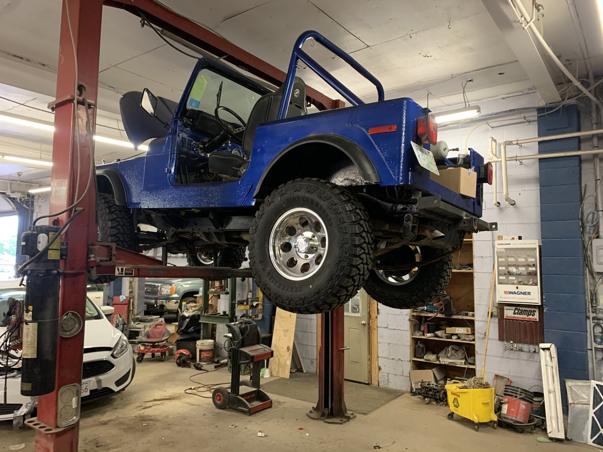 1977 Jeep cj7 overhauled 81 1