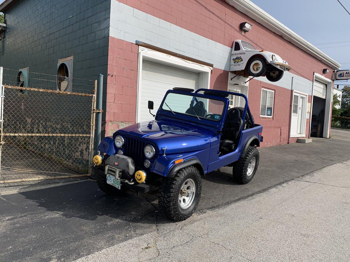 1977 Jeep cj7 overhauled 83 1