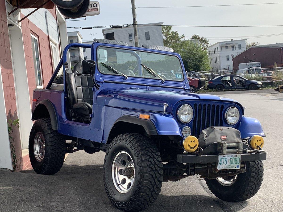 1977 Jeep cj7 overhauled 86 1