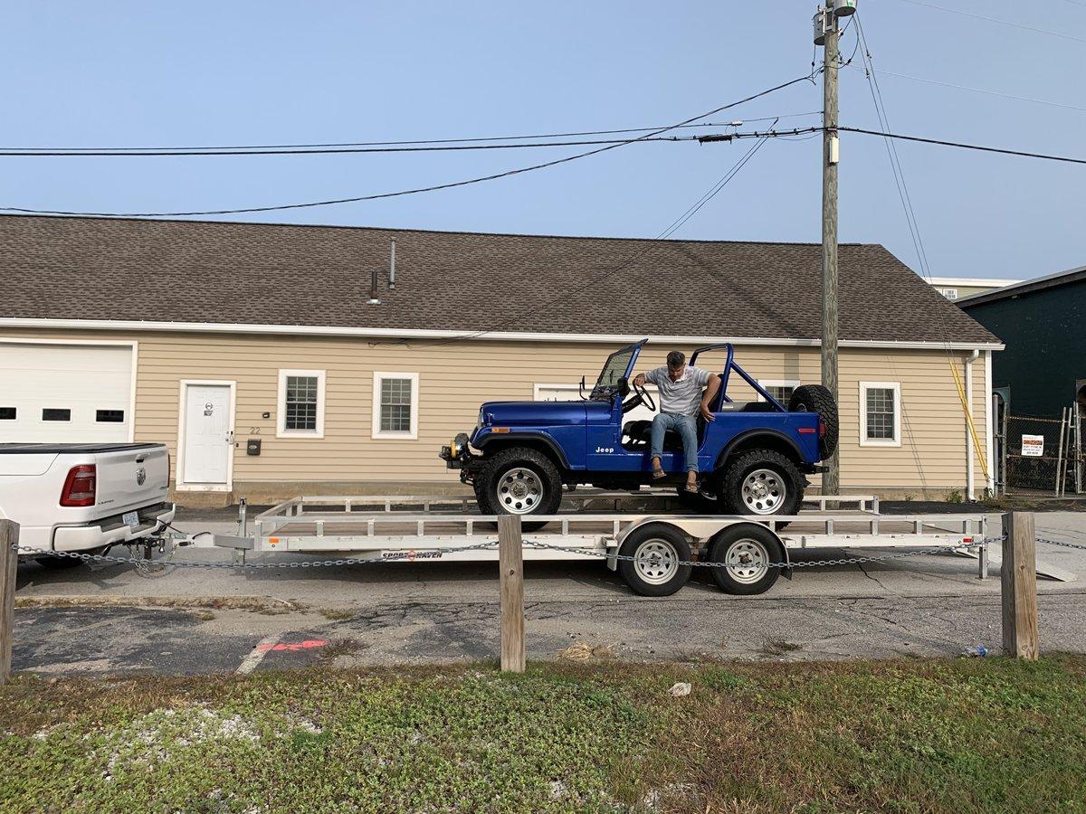 1977 Jeep cj7 overhauled 88 1