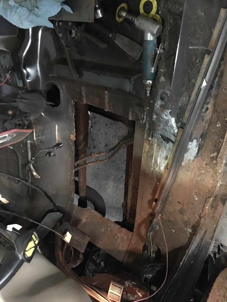 1999 gmc 2500 replace complete floor pans 04