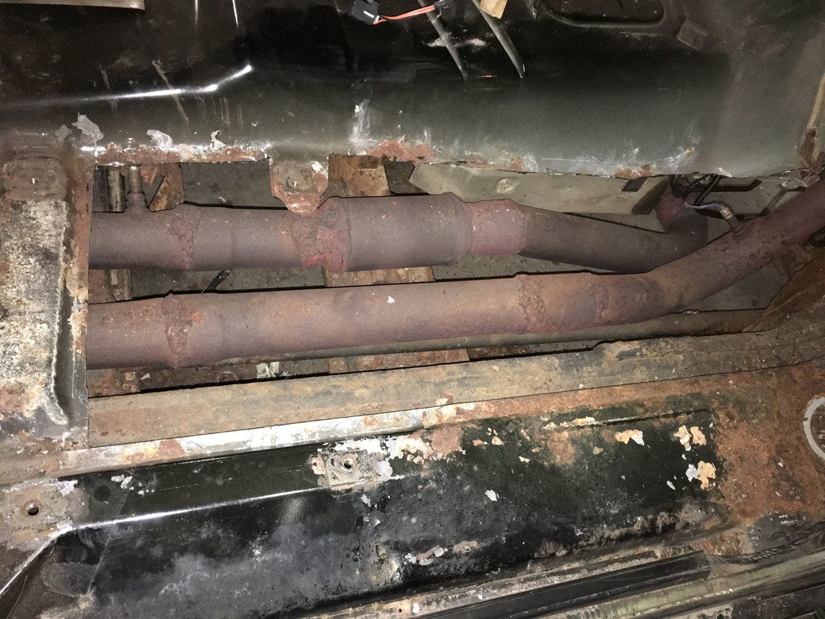 1999 gmc 2500 replace complete floor pans 07