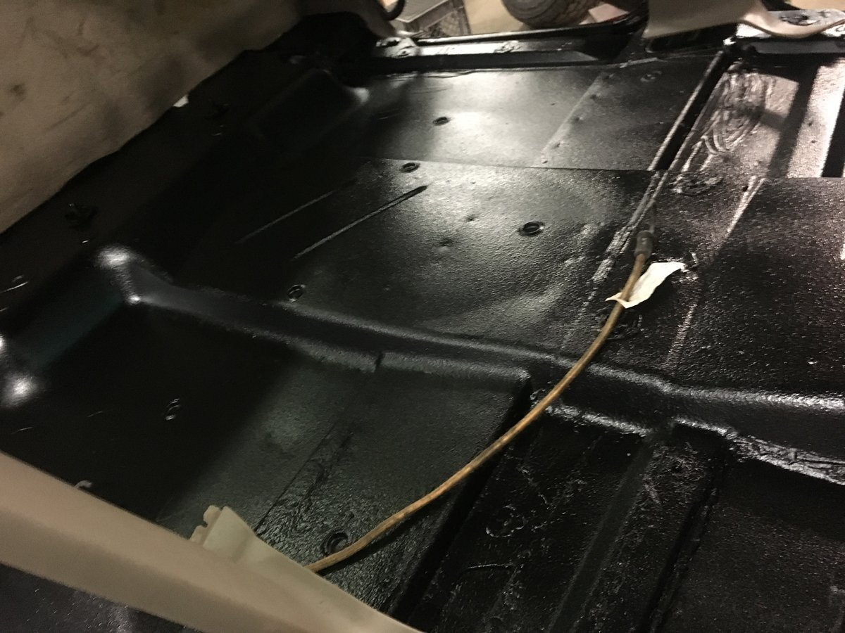 1999 gmc 2500 replace complete floor pans 14