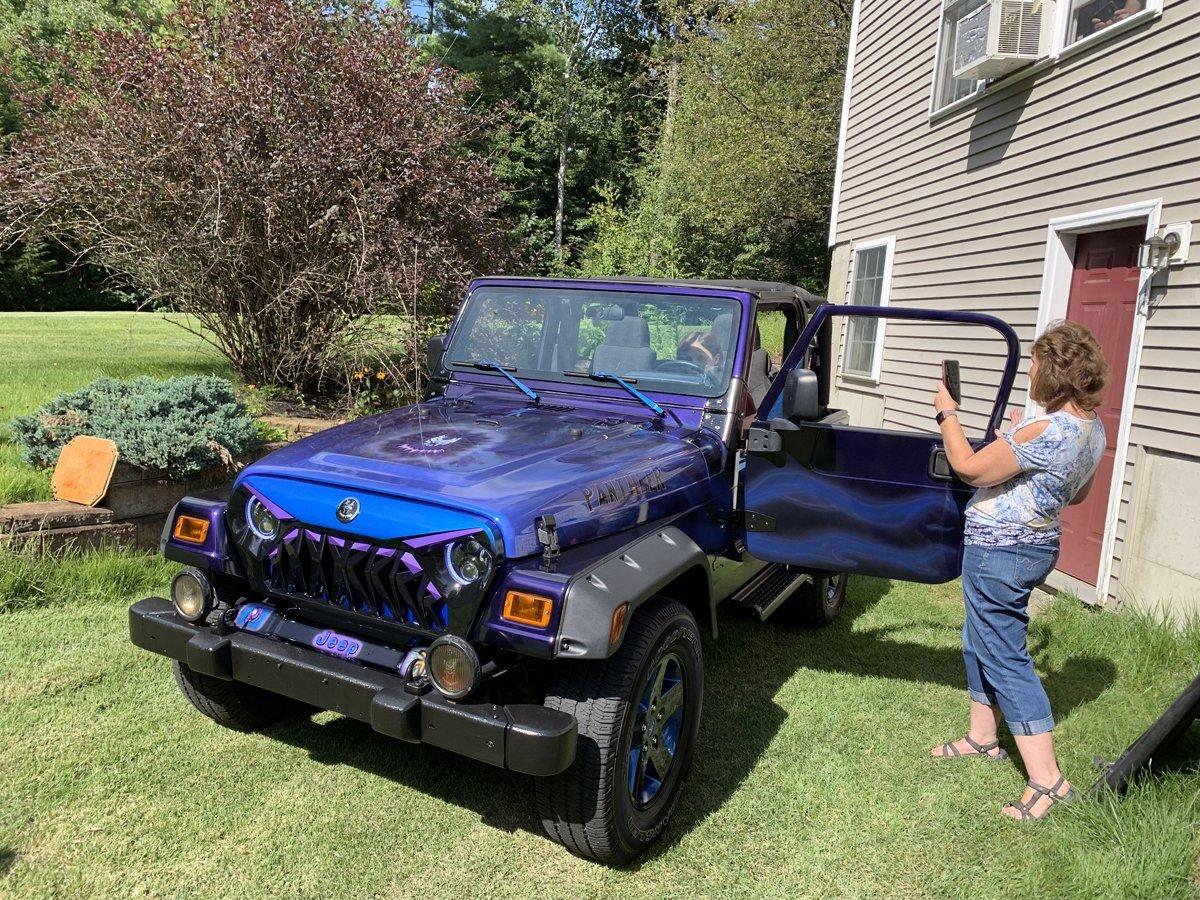 Nerissa Makeover 16 Birthday Jeep 16