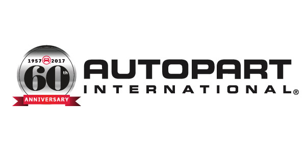 Autopart International 60 Year Logo